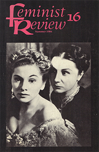 Feminist Review 16 cover